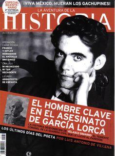 Revista La aventura de la Historia, Editorial Arlanza (Unidad Editorial Sociedad de Revistas S.L.U.), 1998 – 2013  http://www.elmundo.es/historia.html  #136 Federico García Lorca