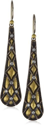 "GURHAN ""Capitone"" White Diamond High Karat Gold and Alloy Earrings http://www.endless.com/GURHAN-Capitone-White-Diamond-Earrings/dp/B0041HXCMQ/ref=cm_sw_o_pt_dp"