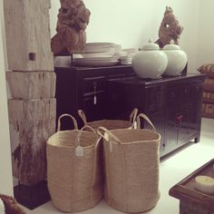 Bangladeshi laundry baskets at LuMu Interiors Laundry Baskets, Neutral, Objects, Design Inspiration, Inspired, Architecture, Life, Accessories, Home Decor