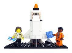 Lego figurines of five storied female NASA pioneers will soon grace toy-store shelves. The project, proposed by a science writer, is meant to shed light on women& contributions to the space program. Space Activities, Activities For Kids, Stem Activities, Educational Activities, Lego Space Shuttle, Space Pioneers, Hidden Figures, Badass Women, Space Exploration