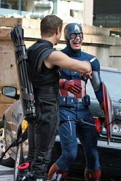 Captain America/Chris Evans/HawkEye