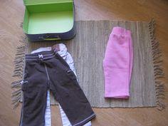 Plega la roba i endreça-la a la maleta
