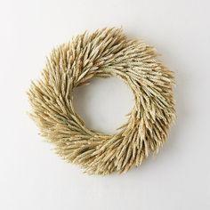 Dried Rye Wreath
