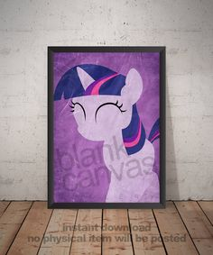 First Birthday Parties, First Birthdays, My Little Pony Bedroom, Printing Services, Online Printing, My Little Pony Twilight, International Paper Sizes, Twilight Sparkle, Frame It