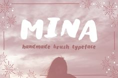 A free handmade brush typeface with two styles. Free for personal use.