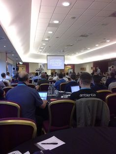 """Lee Ibbotson on Twitter: """"And we're off! Opening keynote @SwanseaCon from…"""