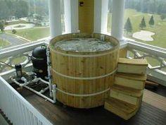 woodfired hot tub!