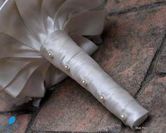 Not a Deposit Pearl Hydrangea Brooch Bouquet LARGE by BluePetyl