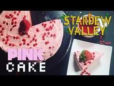 How to Make Stardew Valley Pink Cake - YouTube
