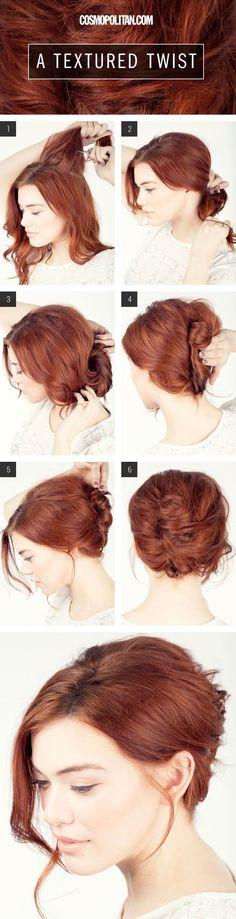 Peinados fáciles paso a paso