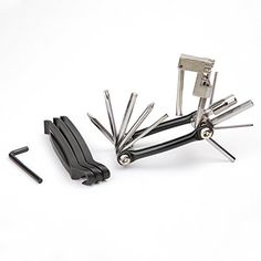Bike Multifunction Tools - WOTOW 11 in 1 Bicycle Folding Tool Set Multifunction Repair Kit Allen Wrench Chain Cutter Tire Lever -- Check this awesome product by going to the link at the image.