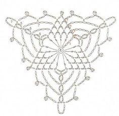 284 Best Crochet Unit Triangle وحدة كروشيه Images On Pinterest