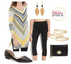 Sporty Spring Tops to Wear With Leggings | Fabulous After 40