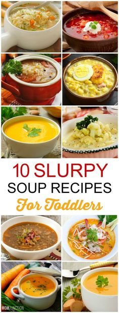 Is your toddler a fussy eater? Are you constantly struggling to feed your child a nutritious diet? Check out the list of 10 slurpy soup recipes for toddlers
