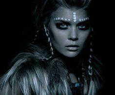 tribal makeup....halloween ideas