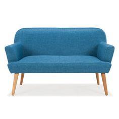 Crush   Les canapés scandinaves Arne Lykke chez @delamaison - www.decocrush.fr   @decocrush #bleu #petrole #design #interior #sofa