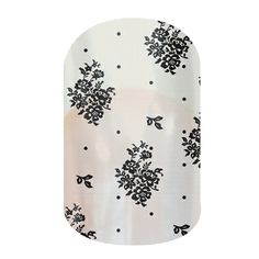 Belle De Jour nail wraps by Jamberry Nails -- goes right over the color for a cute accent nail!