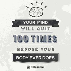 The most important muscle that you need to workout is your brain!