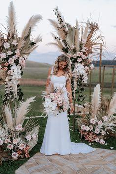 Seacliff House Gerringong Wedding - Gemaya + Tim - The Evoke Company Floral Wedding, Wedding Colors, Wedding Bouquets, Wedding Dresses, Event Dresses, Long Dresses, Simple Dresses, Party Dresses, Beautiful Dresses