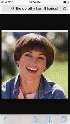 The Dorothy Hamill Haircut