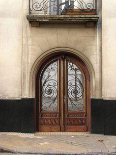 Fancy doors.