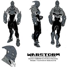 WARSTORM by NKOSI-Publishing Character Concept, Character Ideas, Futuristic Armour, Alien Concept, Suit Of Armor, Character Design Inspiration, Line Design, Design Reference, Marvel