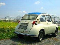 """Subaru360 k111 1968 Japanese name """"Ladybug"""""""
