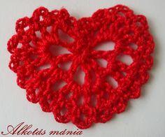 #horgolt #szív #tutorial #horgolás #szerelem #ajándék #alkotásmánia