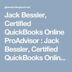 Jack Bessler, Certified QuickBooks Online ProAdvisor : Notebook - Fair Oaks Chamber of Commerce Quickbooks Online, Fair Oaks, Chamber Of Commerce, Notebook, The Notebook, Exercise Book, Notebooks