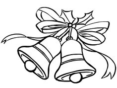 Chrsitmas Holy Bell Coloring Pagesprintable Colouring Pages