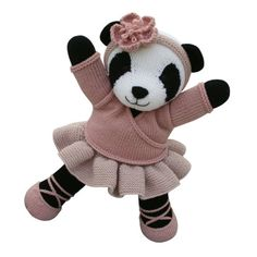 This adorable panda pattern is part of the Knitables 'Knit a Teddy' collection. The 'Knit a Teddy' collection contains a selection of adorable animal teddies, cute outfits which are designed to fit all the different animals and fun accessories. Simply mix and match the teddies, outfits and accessories to create your perfect knitted teddy for that someone special!The pattern has clear row by row instructions and lots of photographs to help you along the way. You will need to be able to knit…