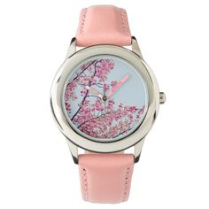 Cherry Blossoms Pink Watch