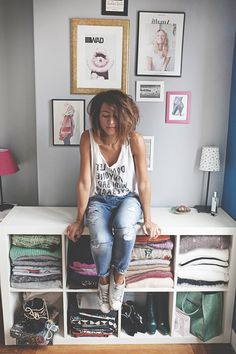 If you do THIS every day, you look stunning Short Jeans, Closet Basics, You Look Stunning, Fashion Outfits, Fashion Tips, Fashion Trends, Minimal Chic, Love Her Style, Parisian Style
