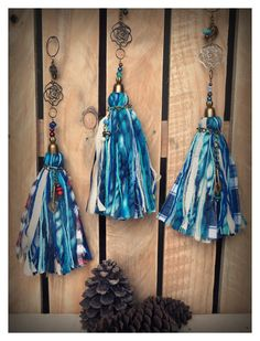 Borlas Diy Tassel, Tassel Jewelry, Tassels, Jewlery, Twine, Lana, Projects To Try, Feather, Jewelry Making