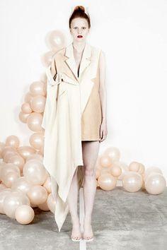Women on the verge of a nervous breakdown: 'Intimately Social by Minna Palmqvist Fashion Art, Editorial Fashion, Runway Fashion, High Fashion, Love Fashion, Fashion Show, Fashion Outfits, Womens Fashion, Fashion Design