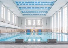 Veauthier Meyer Architects renovates Nazi-era swimming pool