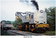 L&N Wrecker 40027 (Robert W. Work Train, Railroad Pictures, Railroad History, Bonde, Railroad Photography, Rail Car, Old Trains, British Rail, Model Train Layouts