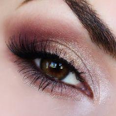 Golden Cranberries  #gorgeous #makeup #everydaylook