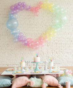 It's a Pastel Bubble Bash - Bubble Themed Birthday Party Ideas