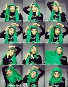 Hijab tutorial #fashion #style #hijab