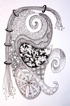 Zentangle Patterns Step by Step | ... zentangle inspired art that i did early on in my zentangle adventure i