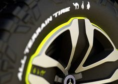 Mercedes-Benz Ener-G Force Concept Car (NOTCOT) Rims For Cars, Rims And Tires, New Mercedes Amg, Sketch 4, Car Wheels, Transportation Design, Automotive Design, Car Detailing, Concept Cars