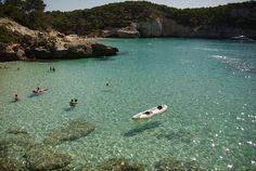 Menorca: Cala Mitjana  © J. Salmoral