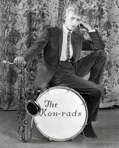 16-year-old David Bowie in 1963.