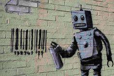 Banksy - Brendan McDermid/Reuters