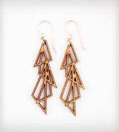 Four Triangles Earrings | Women's Jewelry | Folia Design SF | Scoutmob Shoppe | Product Detail