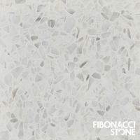 Nougat Terrazzo Tiles combine subtle tones of white, beige, grey and dusty pink to create an exclusive flooring solution