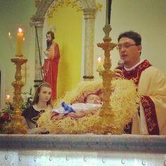 #Missa_Do_Galo❤  Menino Jesus deste ano... ❤  @orlandomariana @alex.pereira.98434