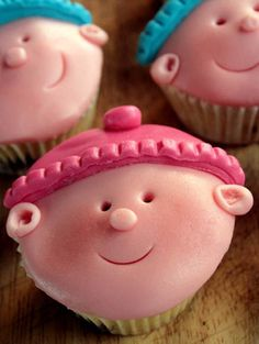 Baby Shower Fairy Cakes