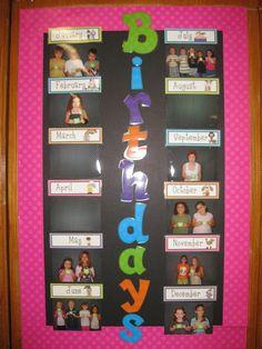 Nice way to display birthdays